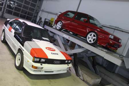 Audi Urquattro vs Golf Rallye