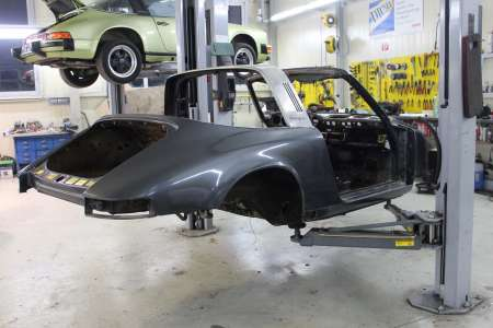 Porsche 911 Targa Restauration
