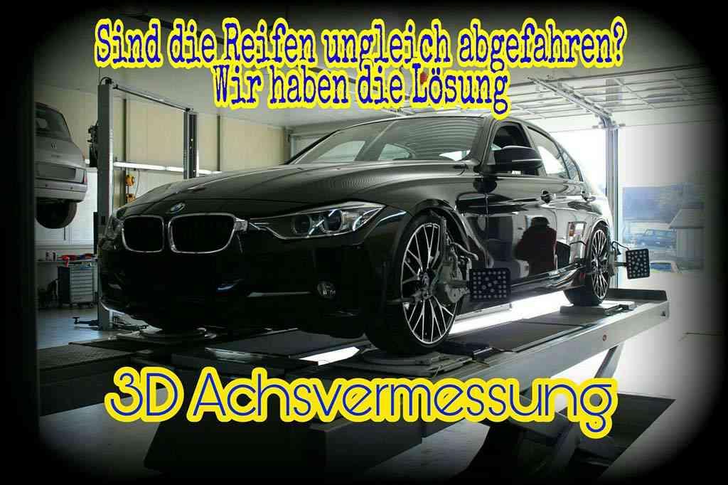 3D-Achsvermessung